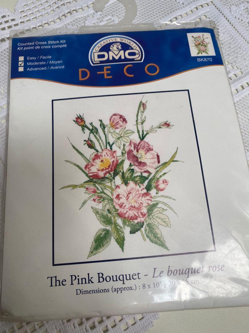 Paket kristik DMC : The Pink Bouquet