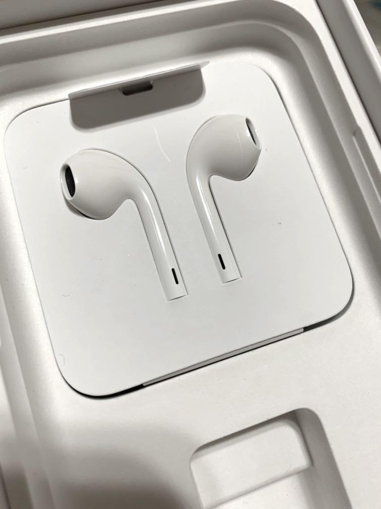 iPhone 11 原廠扁頭耳機 original apple headset earphone