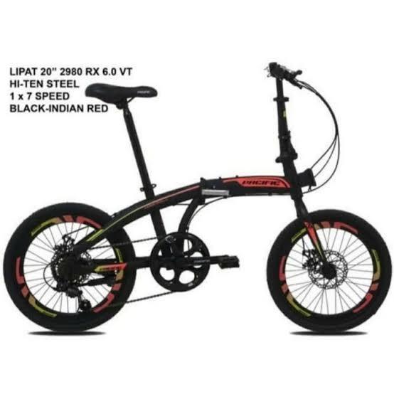 Sepeda Lipat pacific 2980 RX 60 bisa kredit by homecredit Indonesia