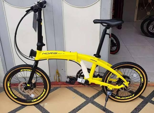 Sepeda Lipat pacific NEXX 3.0 Bisa Kredit by homecredit Indonesia