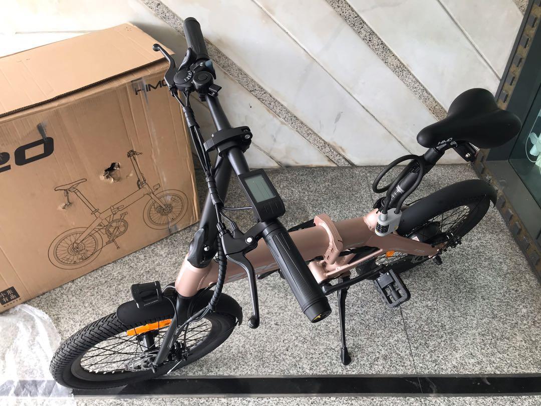 Sepeda Lipat XIAOMI HIMO z20 ROSEGOLD original baru