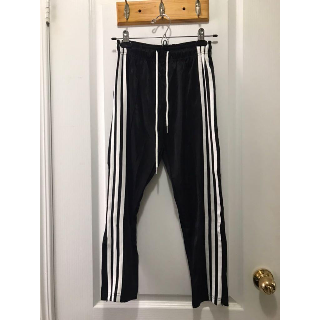 Striped joggers (S)