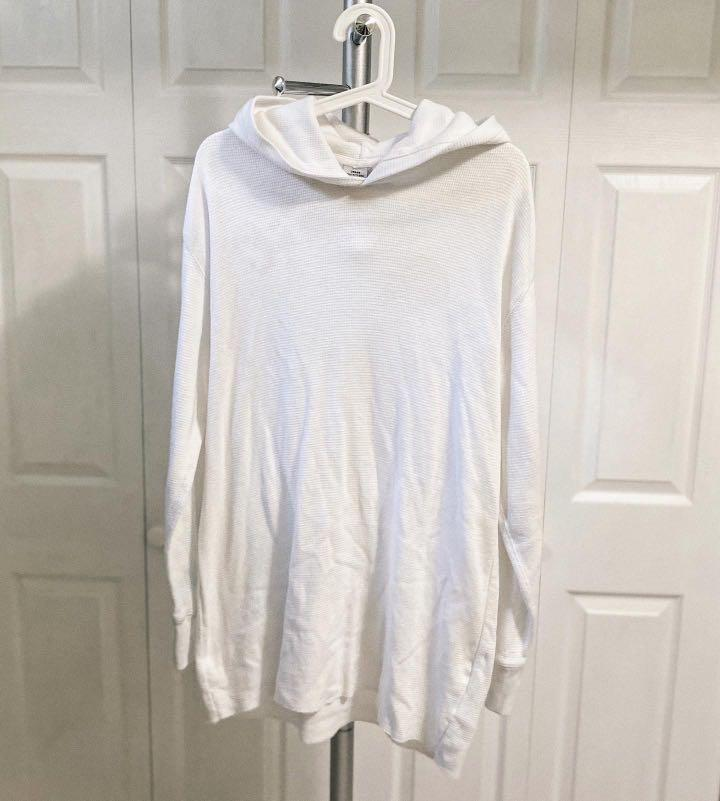 URBAN OUTFITTERS MEN'S WAFFLE HOODIE