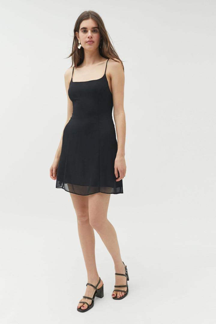 Urban Outfitters Tie-Back Mini Dress