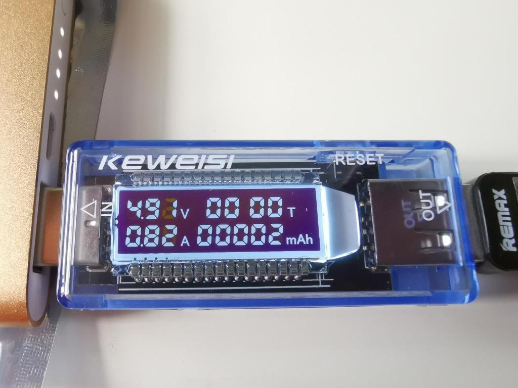Power Bank New 5A//9V LED Display Multi Tester Dual USB Output Current Detector