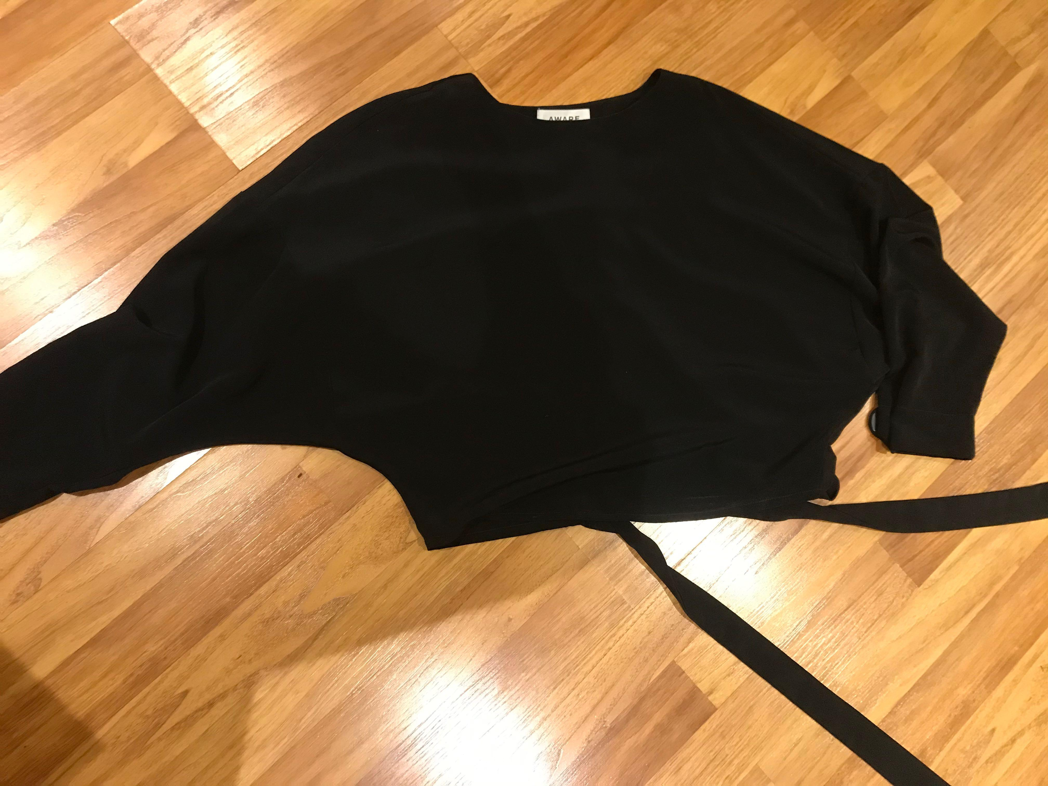 Vera moda black top size xs