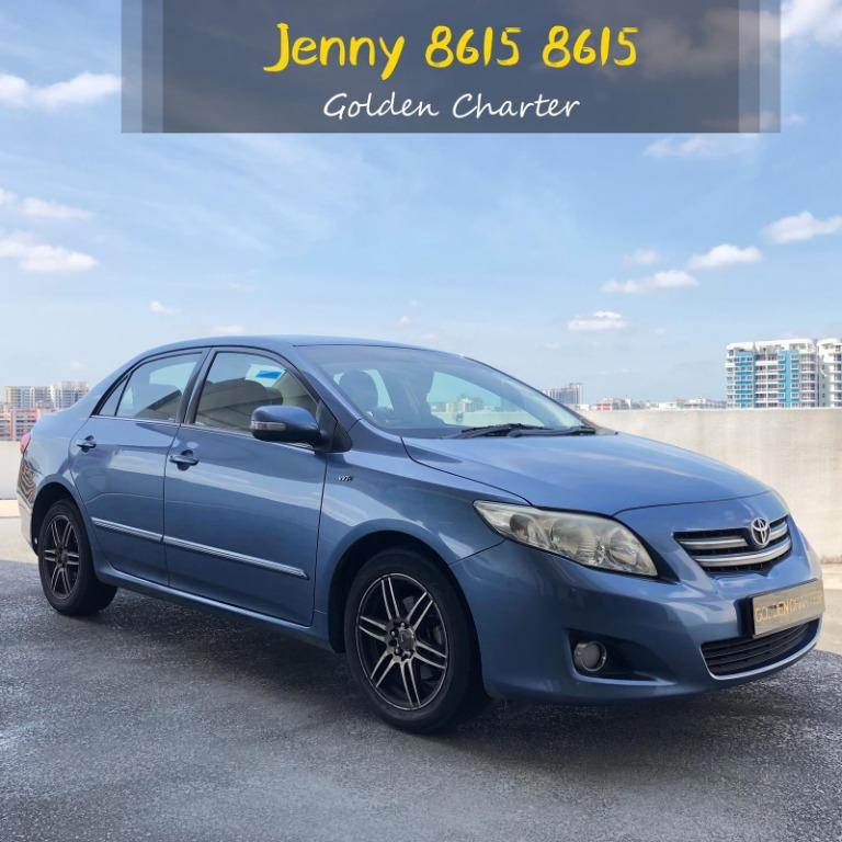 07/09 Call Jenny 8615 8615 SEPT PROMO COME GRAB YOURS QUICK ! Toyota Altis Cheapest Weekly Rental Available ! Cars Ready for Go-Jek Rebate, Grab, Ryde, PHV, Personal Usage ! Cheap Rental Car ! Car Rental ! Rent Car !
