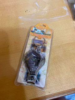 新加坡魚尾獅指甲剪鑰匙圈