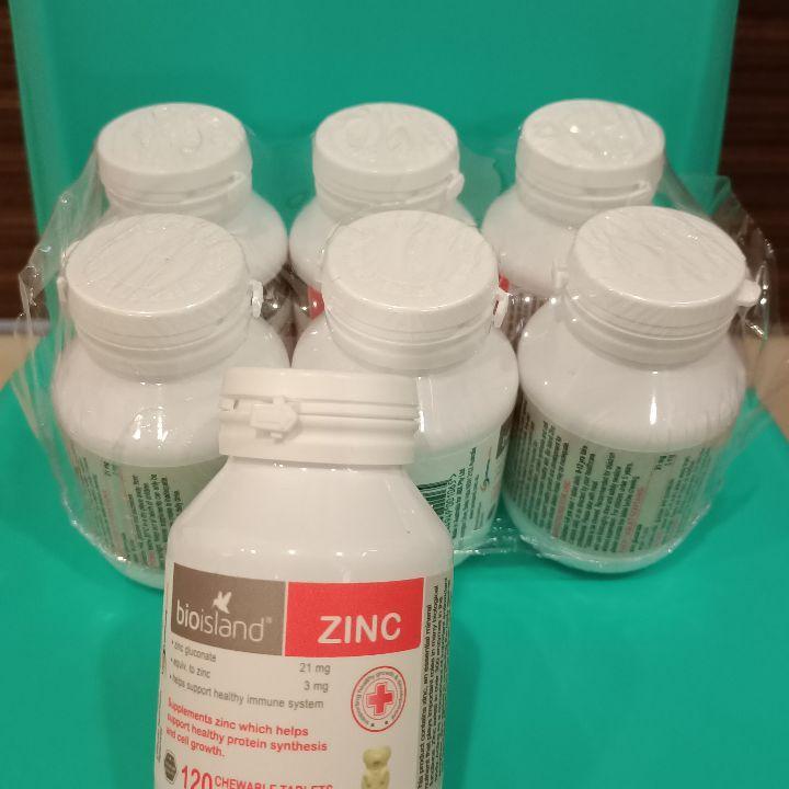 澳洲 Bio Island Zinc 天然嬰兒兒童鋅片 120粒 提高免疫力