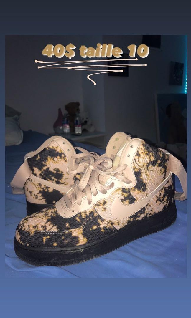 AirForce ones bleached