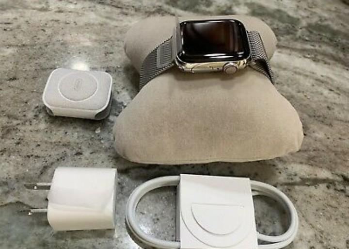 Apple watch series 5 with mesh band