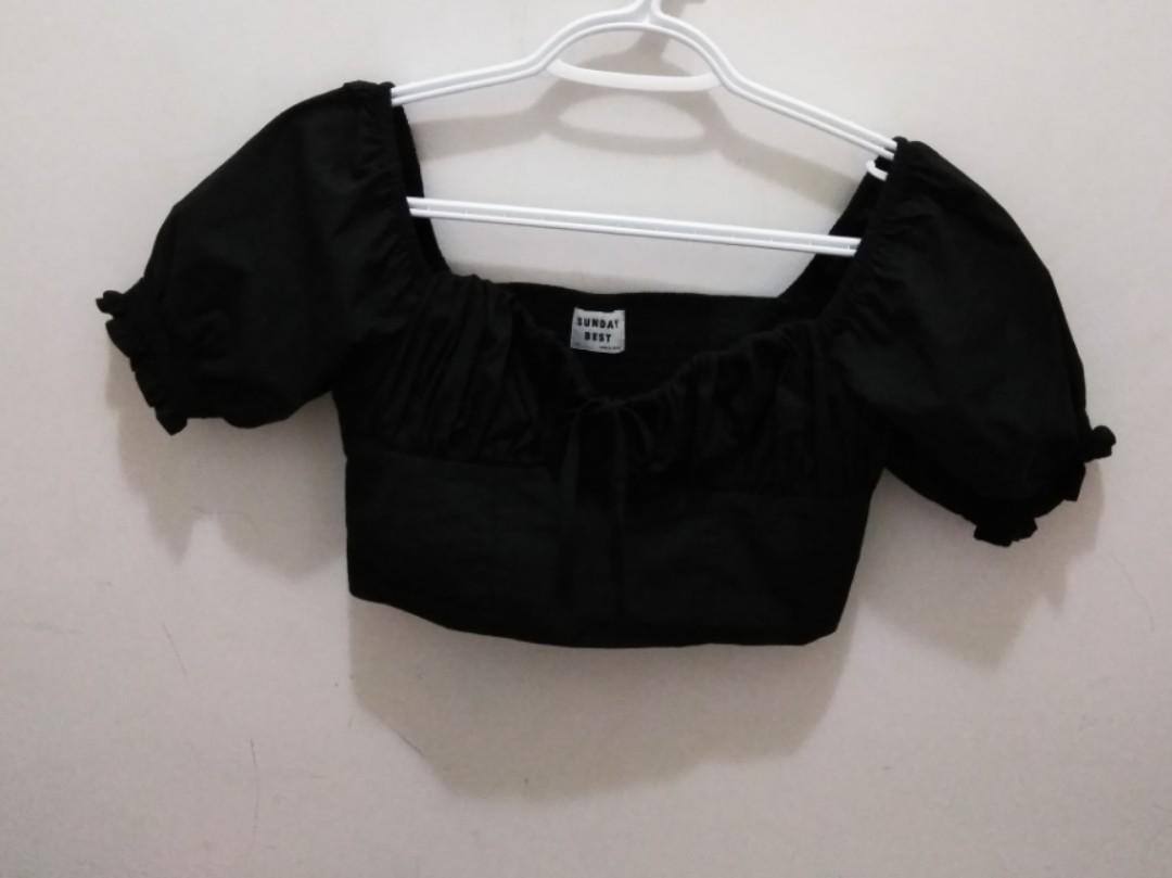 Aritzia Sunday Best Countess Blouse