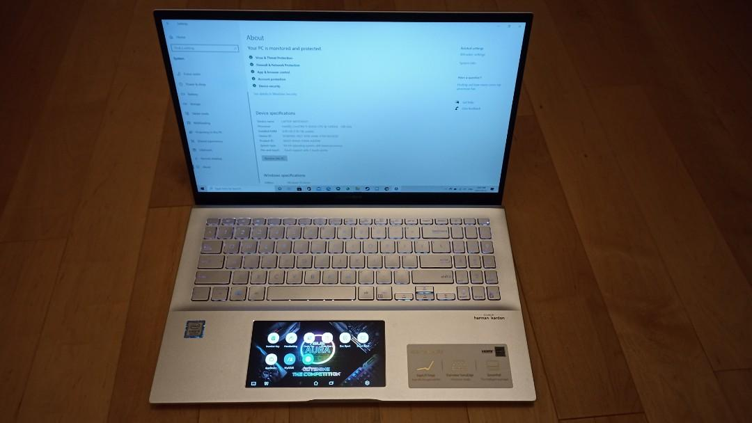 ASUS Vivobook S15 Laptop (with Screenpad)