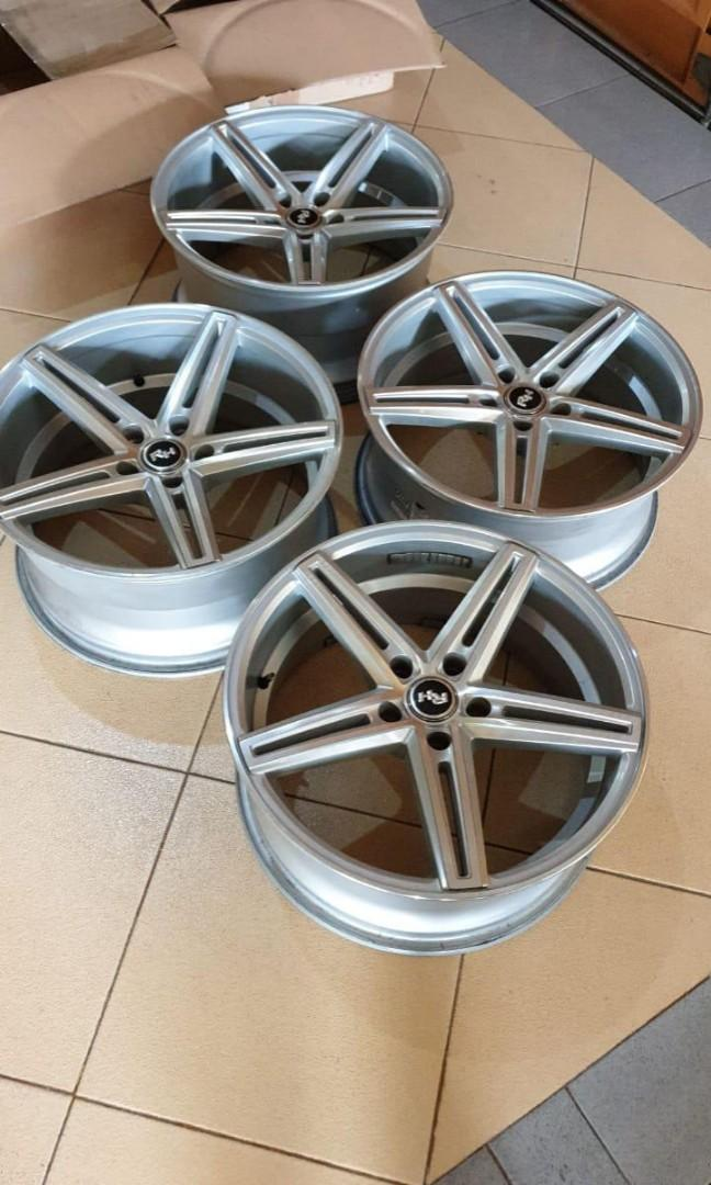Auto speed velg