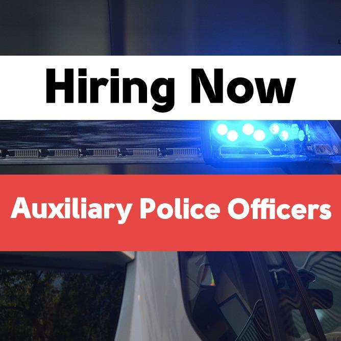 Auxiliary Police Officers