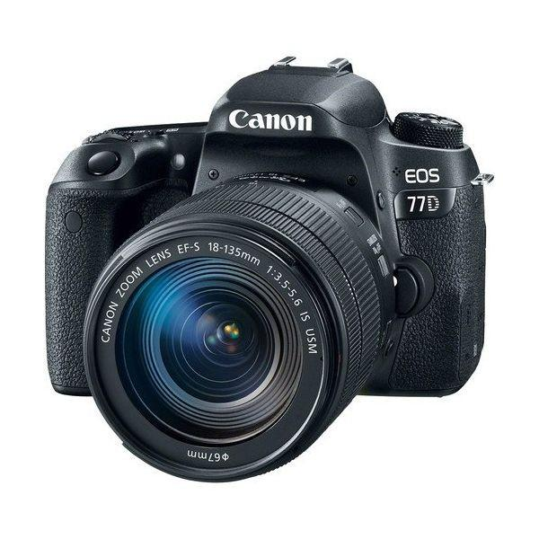 Bisa kredit Canon EOS 77D DSLR Camera with 18-135mm USM Lens