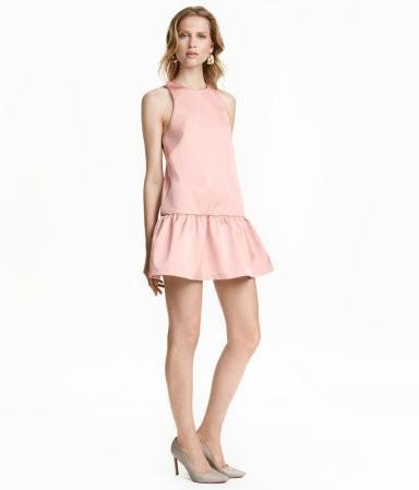 BNWT H&M Pink Satin Dress