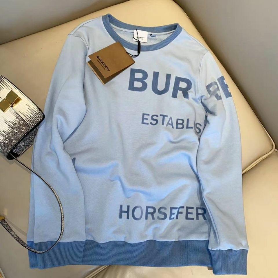 Burberry woman fashion sweater T-shirt free shopping