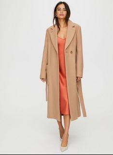 Carlyle Wool Coat Aritzia