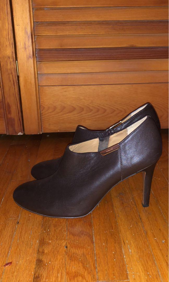 Coach ankle booties- size 39