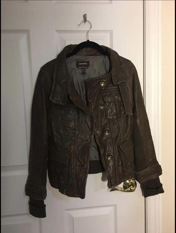 Danier Leather Women's Leather Jacket (Sz XXXS fits XS)