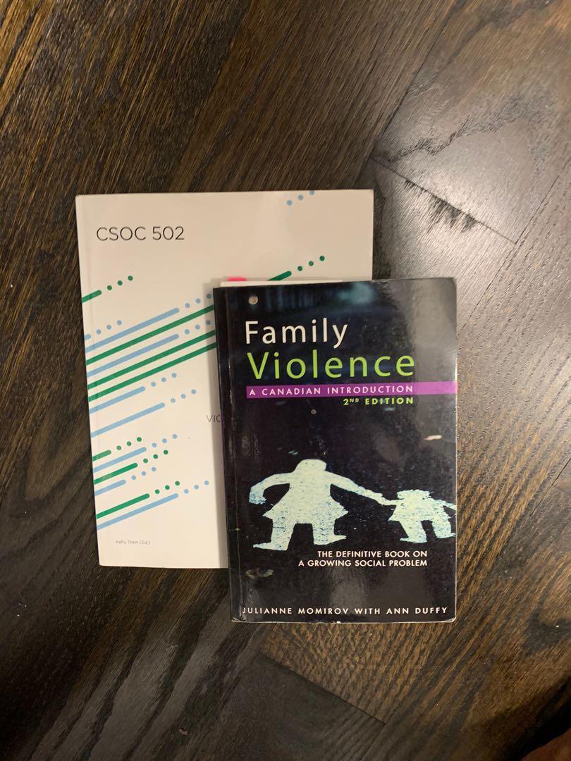 Family violence textbooks