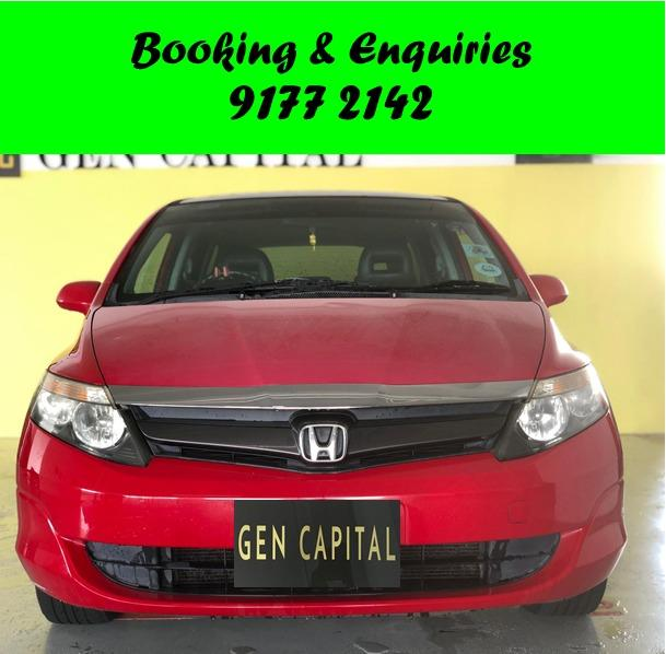 Honda Airwave 1.5. SPACIOUS AND IDEAL .September 2 weeks promo. $500 deposit only. Whatsapp 9177 2142 to reserve.Cheap Car Rental. Cheap Car. Budget car.