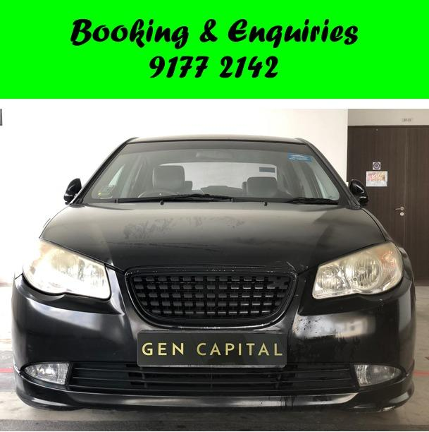 Hyundai Avante . September Early Bird promo. $500 deposit only. Whatsapp 9177 2142 to reserve.Cheap Car Rental. Cheap Car. Budget car.