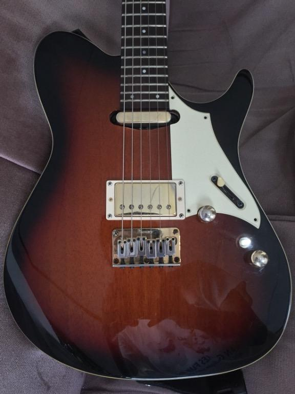 Ibanez FR 365 Tri Fade Burst Made in Indonesia 2012 with Softcase