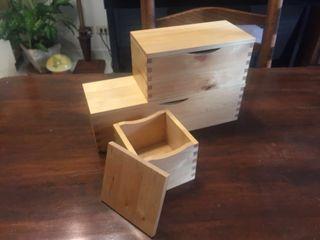 IKEA收納木盒3件組(絕版)