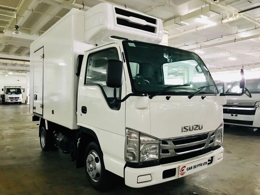 Isuzu NHR87 Freezer Manual 10ft Truck
