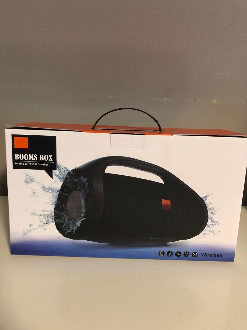 JBL Boombox Mini copy Bluetooth Splashproof Portable Speaker