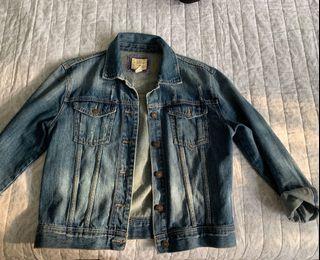 Jean jacket - size medium