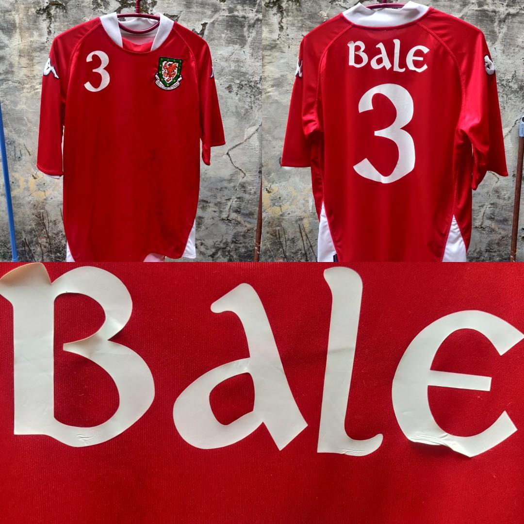 Jersey Wales Home 2007 - 2008 Gareth Bale Original