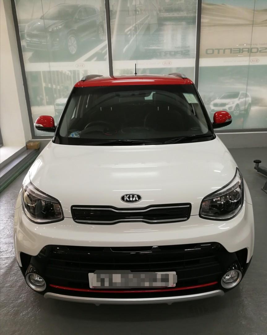 Kia Soul 1.6 GDI Auto
