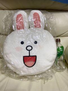 Line正版兔兔抱枕
