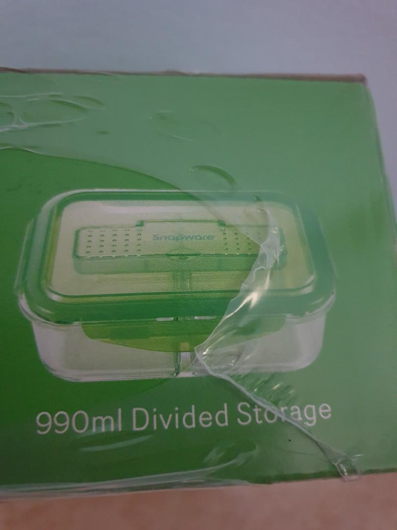 Glass Lunch Box Corelle Snapware 990ml Home Appliances Kitchenware On Carousell