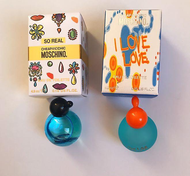 Moschino perfume mini