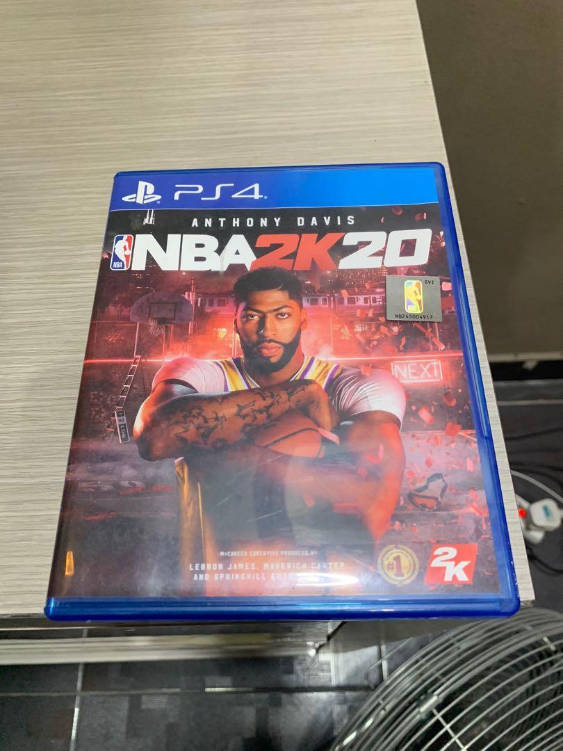NBA 2K20 Kaset CD Games PS4 Original Playstation 4 Sony PS 4 BD Second Mulus 2020