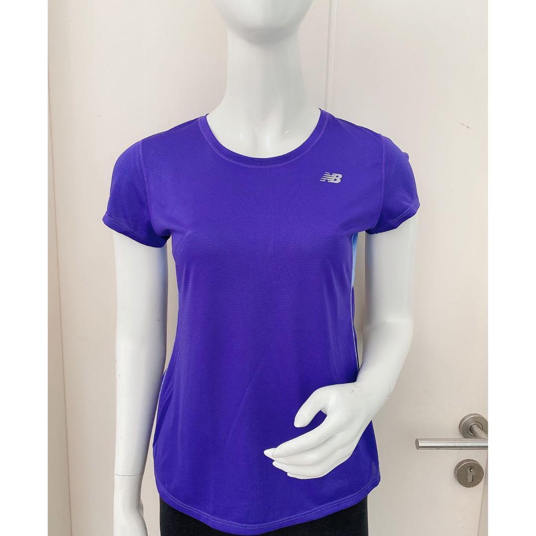 NEW BALANCE NB Dry Workout Shirt - Purple