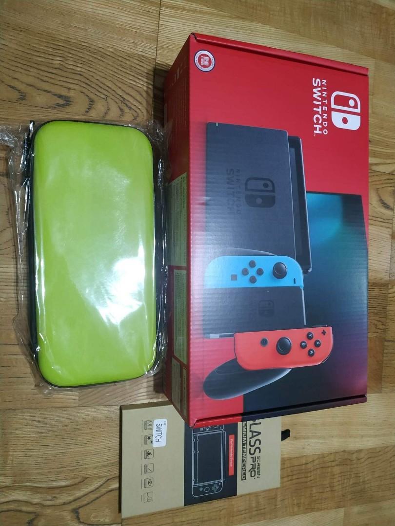 全新 NS Nintendo switch 遊戲主機(台灣公司貨)