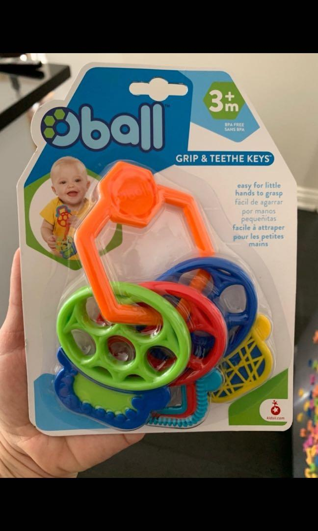 Oball teething keys