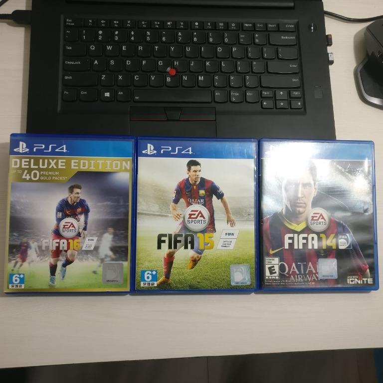 ORIGINAL Fifa 14, 15, 16 BUNDLE PS4