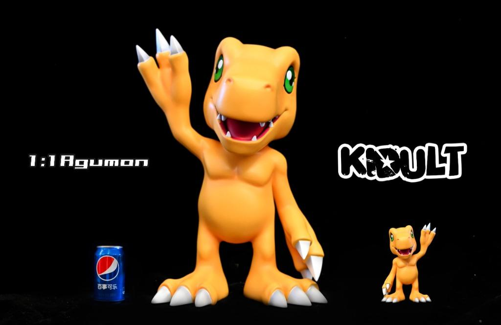 [PRE-ORDER]DIGIMON: AGUMON - 1/1 RATIO STATUE FIGURE