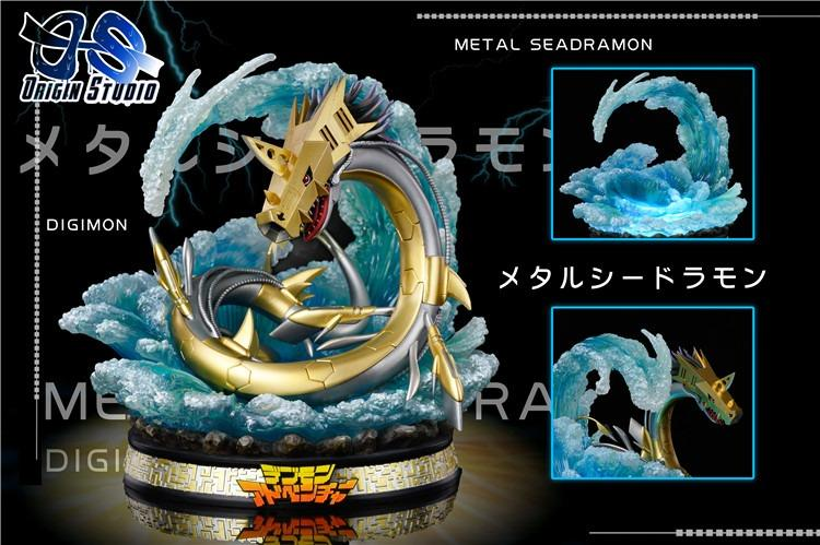 [PRE-ORDER]DIGIMON: METALSEADRAMON - DARK MASTERS SERIES #1 STATUE FIGURE