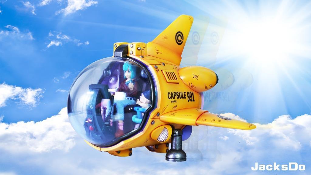 [PRE-ORDER]DRAGON BALL: BULMA 991 AIRSHIP STATUE FIGURE