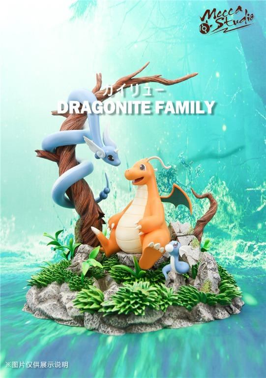 [PRE-ORDER]POKEMON: DRAGONITE FAMILY - DRAGONITE DRAGONAIR DRATINI STATUE FIGURE
