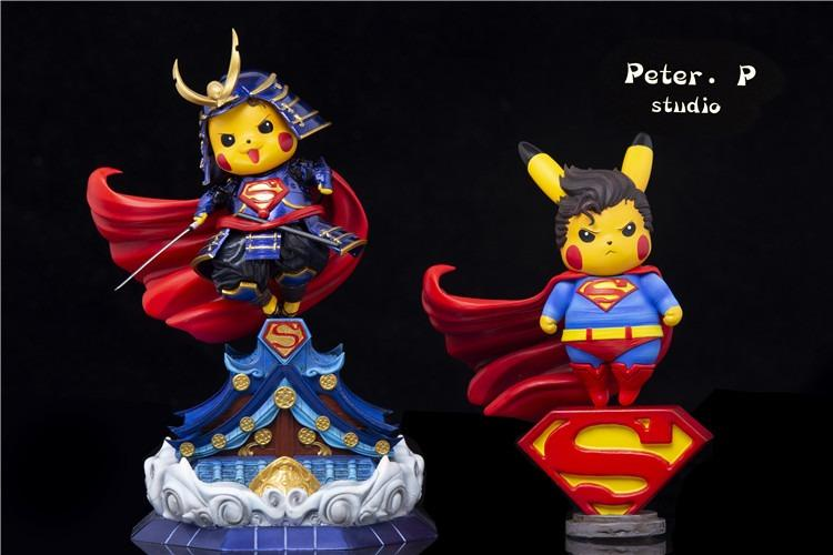 [PRE-ORDER]POKEMON: PIKACHU COSPLAY SUPERMAN STATUE FIGURE