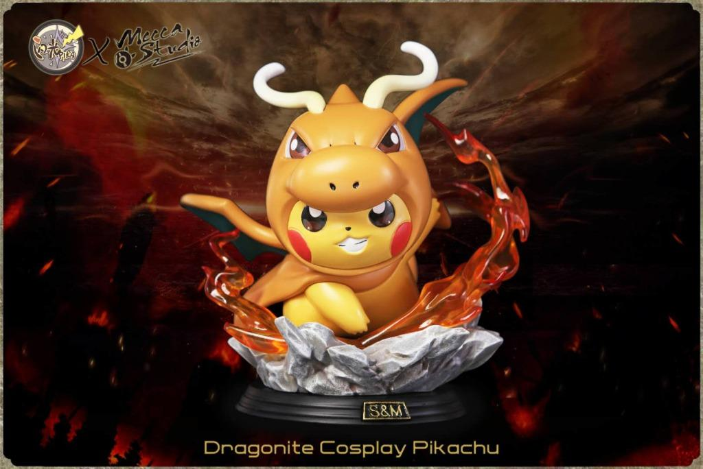 [PRE-ORDER]POKEMON: PIKACHU COSPLAY DRAGONITE STATUE FIGURE
