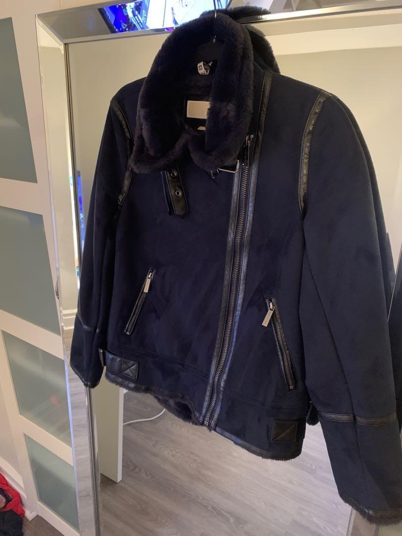 Selling Michael Kors Real Fur Jacket
